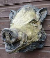 Boars Head Wall plaque - large